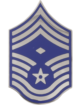 United States Air Force Rank (AF-111) Chief Master Sergeant with Diamond